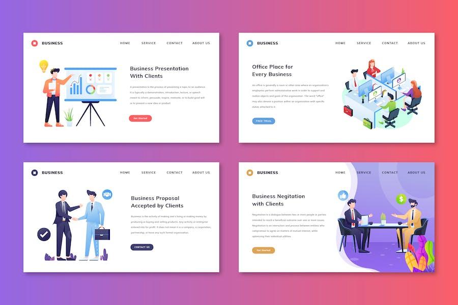 Business - Web Header Pack
