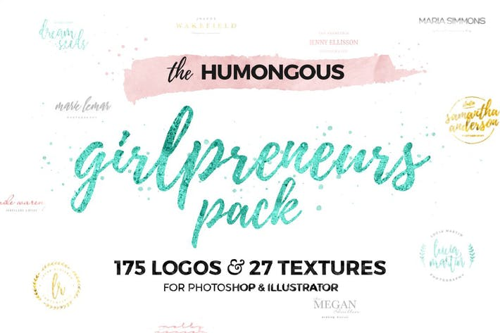 Thumbnail for The Humongous Girlpreneurs Logo Pack