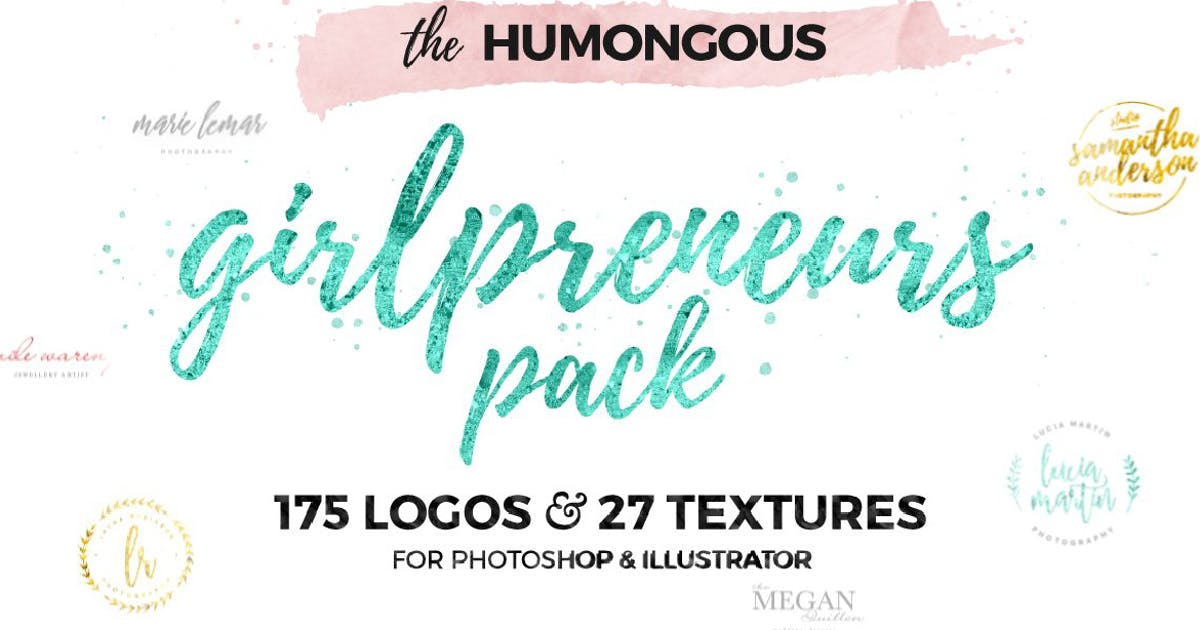 Download The Humongous Girlpreneurs Logo Pack by MPFphotography