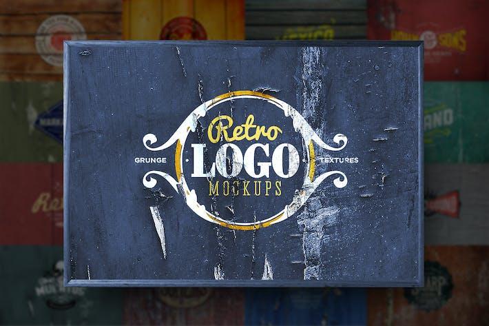 Cover Image For Retro Logo Mockups