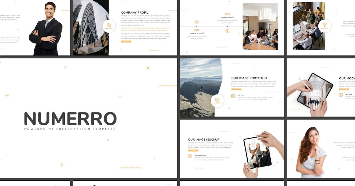 Download Numerro - Multipurpose Powerpoint Template by inspirasign