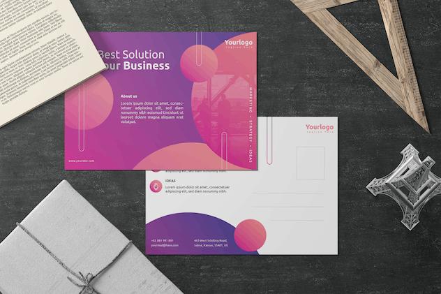 Bold - Postcard Design