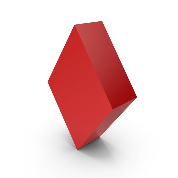Символ красного бриллианта
