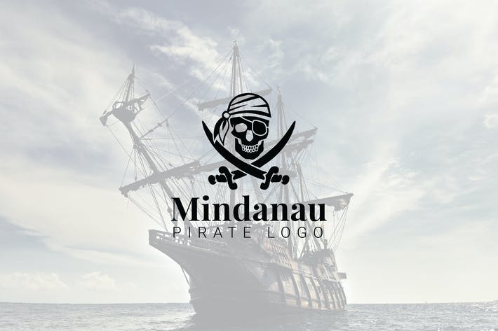 Thumbnail for Mindanau : Pirate Logo