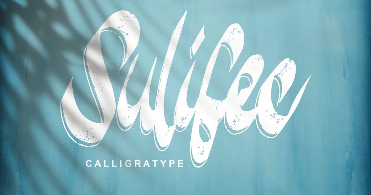 Download Sulifec   Calligratype Script Font by Vunira