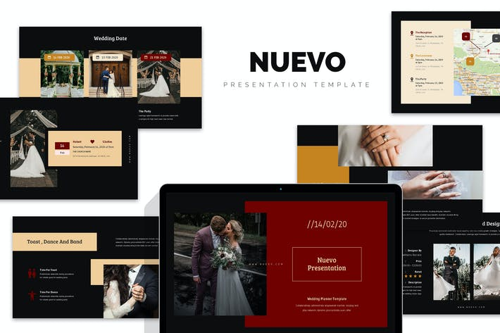 Thumbnail for Nuveo : Wedding Planner and Organizer Keynote