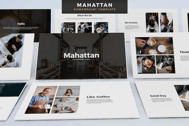 Mahattan - Powerpoint Template