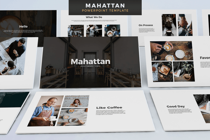 Thumbnail for Матантан - Powerpoint Шаблон