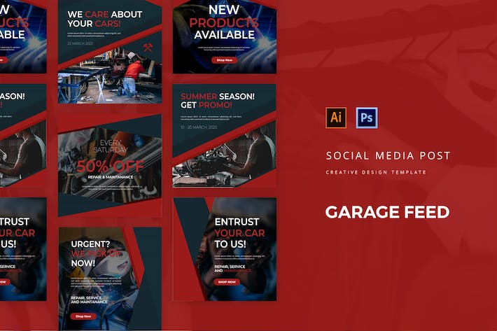 Thumbnail for Garage Social Media Post