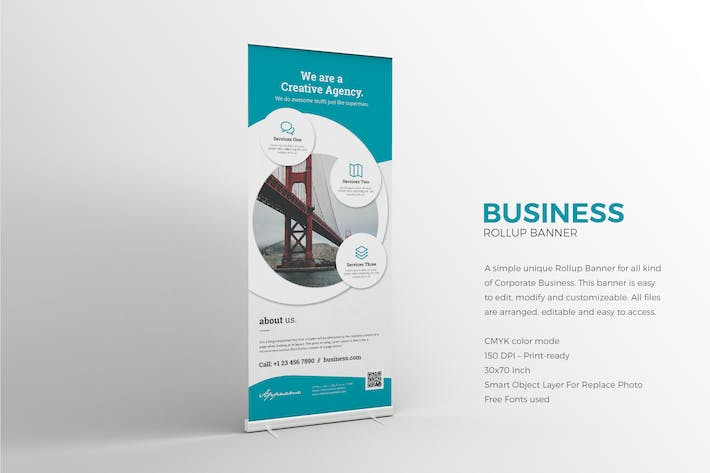 Thumbnail for Roll-up Banner