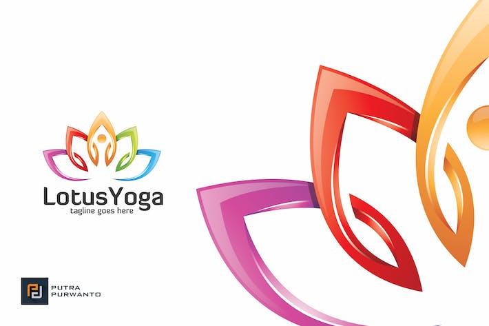 Thumbnail for Lotus Yoga - Logo Template
