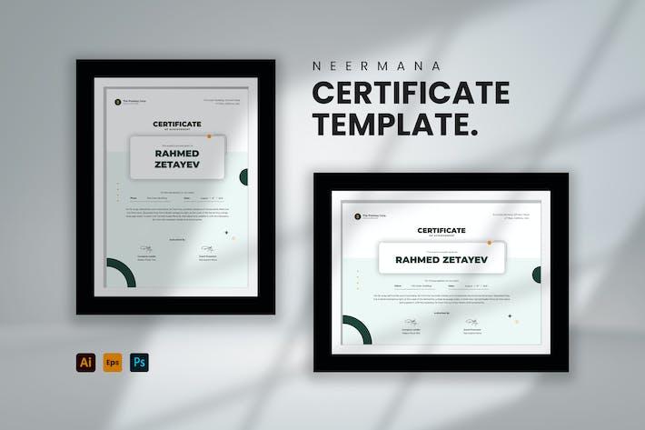 Certificate Template V.5