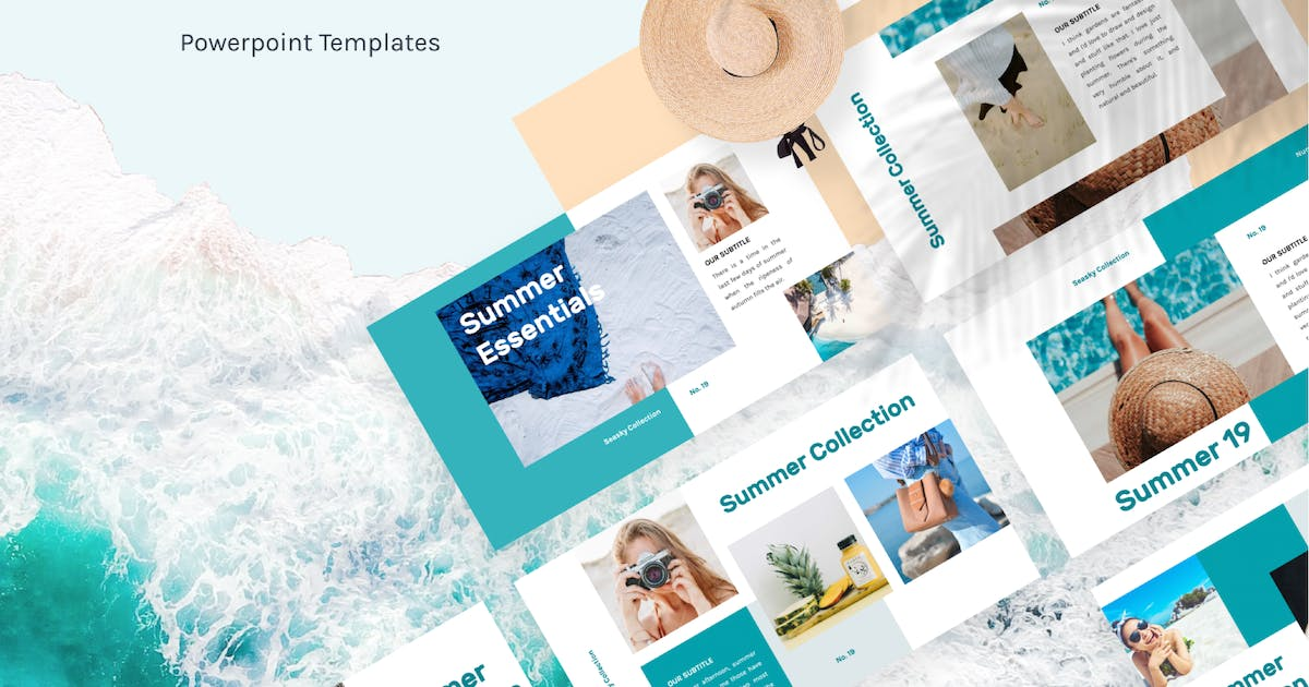Download Seasky Creative PowerPoint Template by letterhend