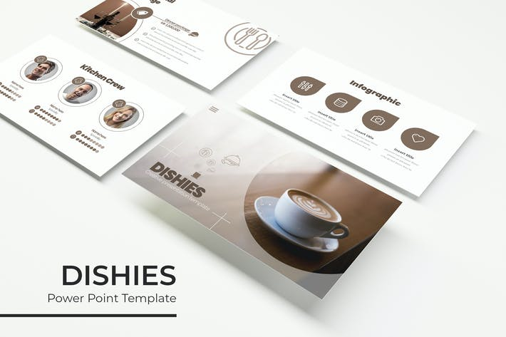 Thumbnail for Dishies - PowerPoint Template
