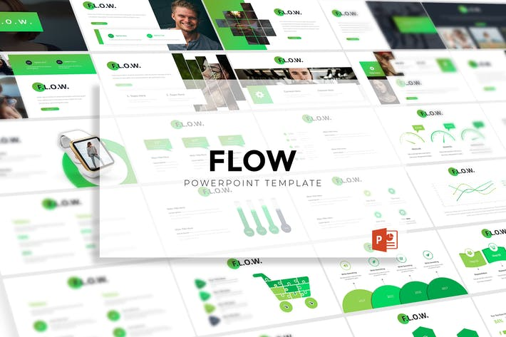 Thumbnail for Flow - Powerpoint Template