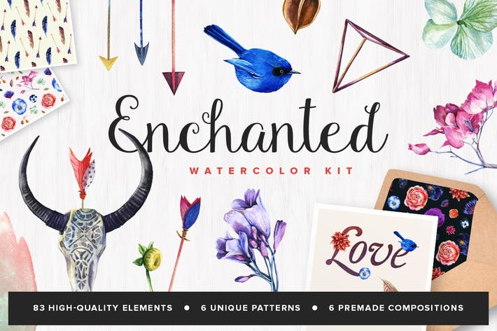 Thumbnail for Enchanted Watercolor Kit
