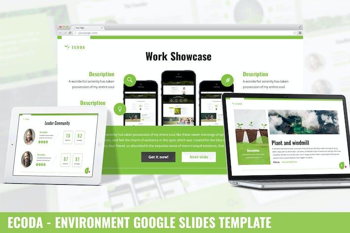 Thumbnail for Ecoda - Среда Google Слайды Шаблон