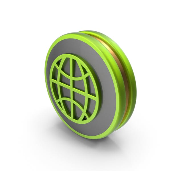Green Web Icon