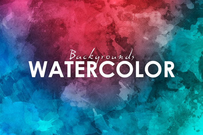 Thumbnail for 11 Watercolor Backgrounds