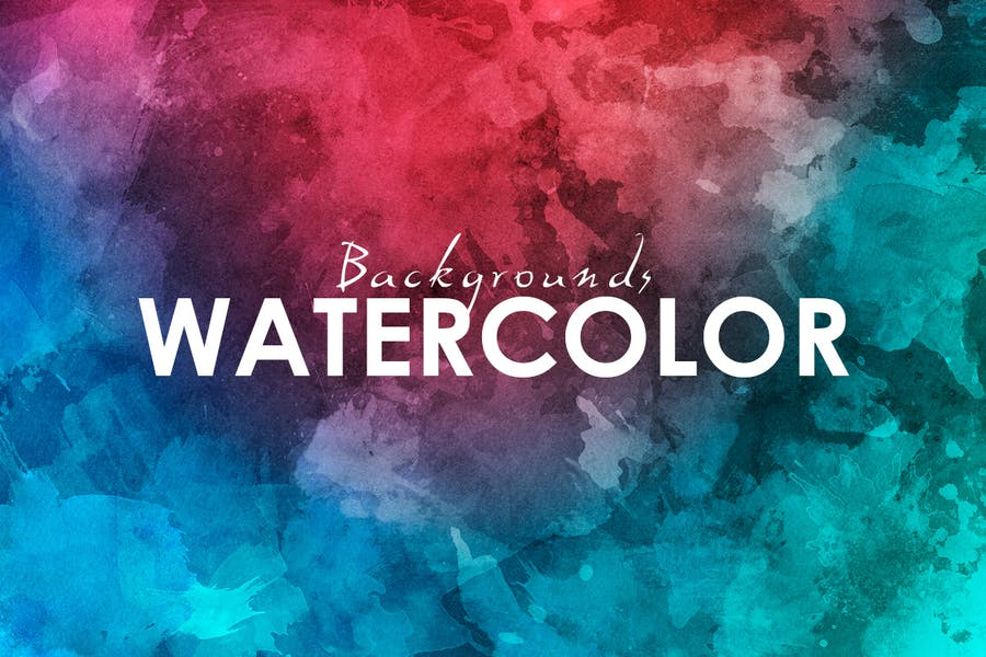 11 Watercolor Backgrounds