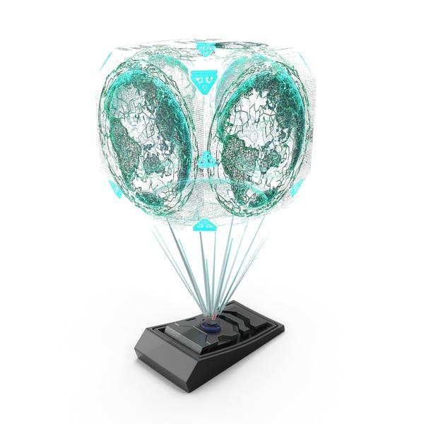 Sci Fi Hologram Projector