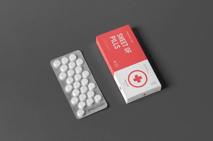 Thumbnail for Pills Box Mock-up