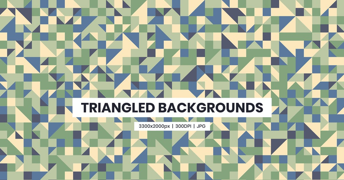 Download 22 Triangled Background by YummyDs