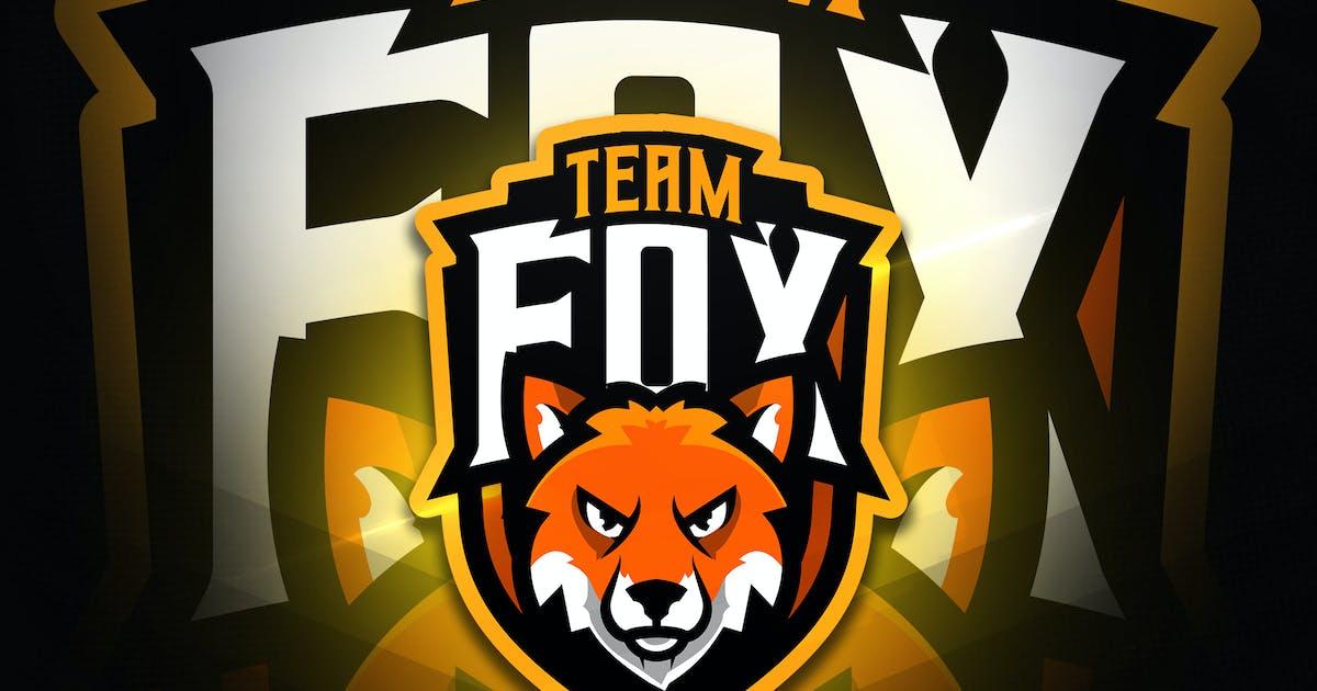 Team Fox - Mascot & Esport Logo by aqrstudio
