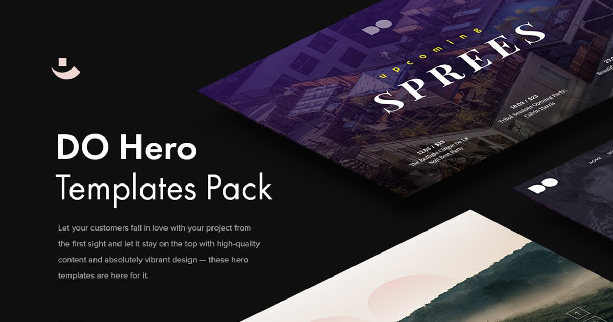 Download Do Hero Templates Pack by pixelbuddha_graphic