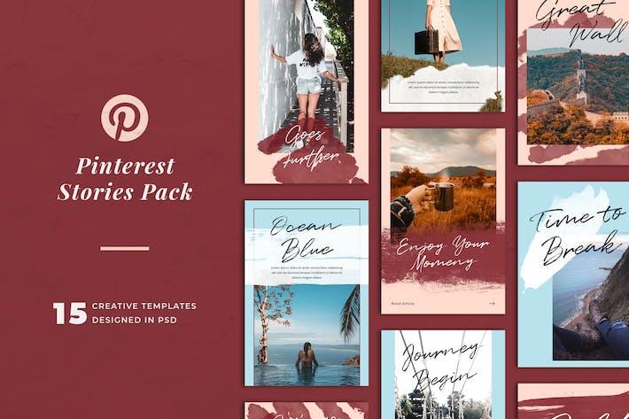 Thumbnail for Pinterest Stories Templates