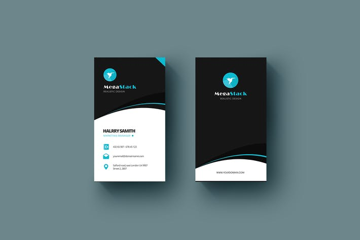 Thumbnail for MegaStack - Business Card Template