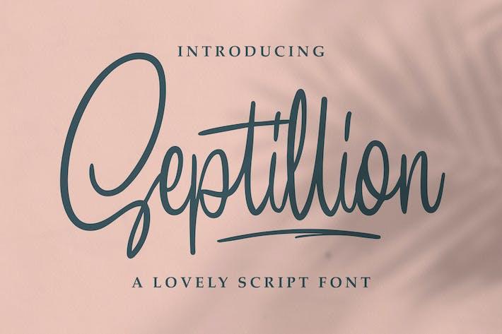 Thumbnail for Septillion - Script Font