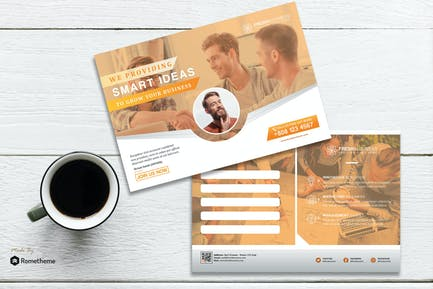 Freshness - Creative Corporate Postcard HR