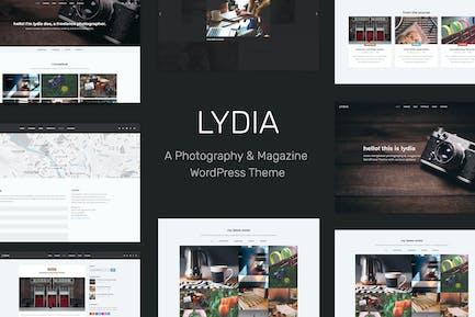 Lydia - Fotografie & Magazin WordPress Thema