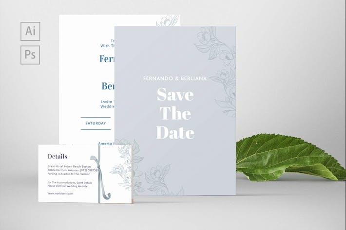 Thumbnail for Fernando and Berliana Wedding Invitation