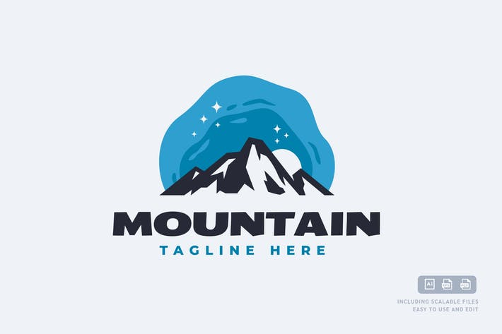 Mountain - Logo Design Template