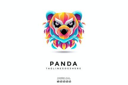 Panda Gradient Logo