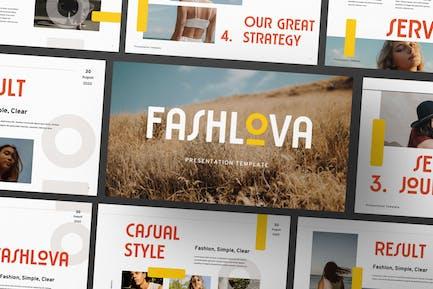 Шаблон бизнес-презентации Fashlova Travel