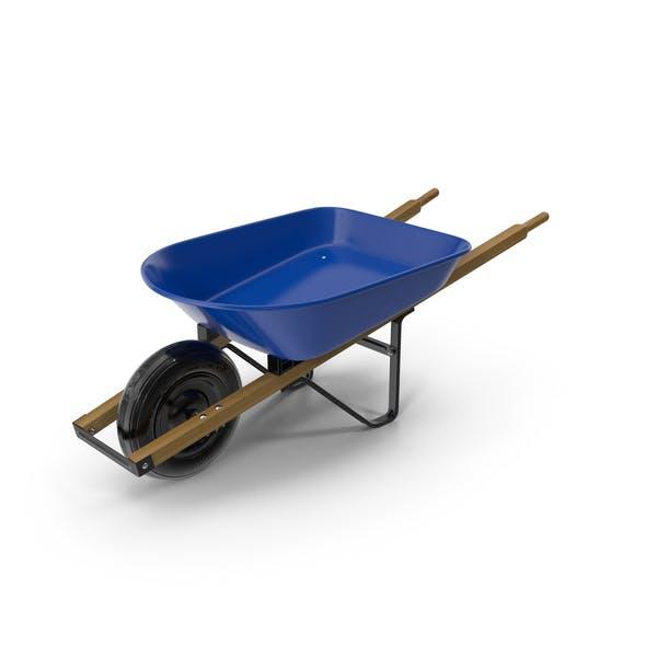 Heavy Gauge Wheelbarrow with Wooden Handles