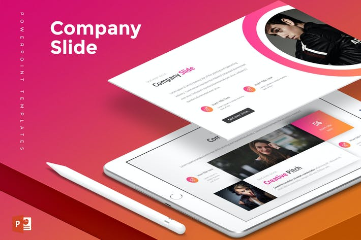 Thumbnail for Company Slide - Powerpoint Template