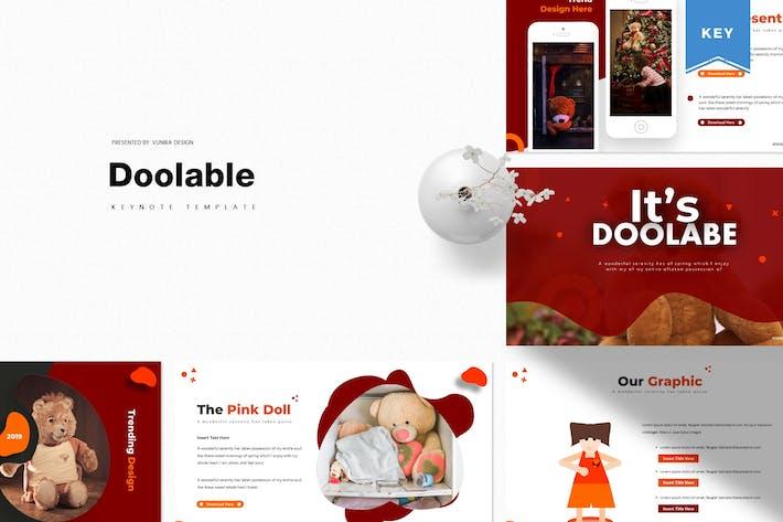 Thumbnail for Doolable | Keynote Template