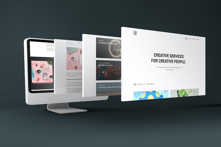 Honor - Creative Portfolio Showcase Template