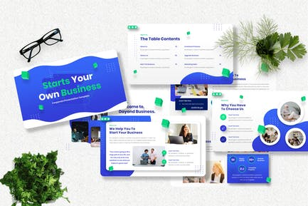 Dayond - Corporate Powerpoint Template