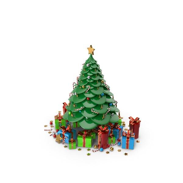Thumbnail for Cartoon Christmas Tree