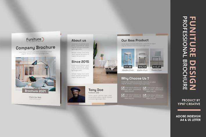 Thumbnail for Furniture Interior Bifold Brochure