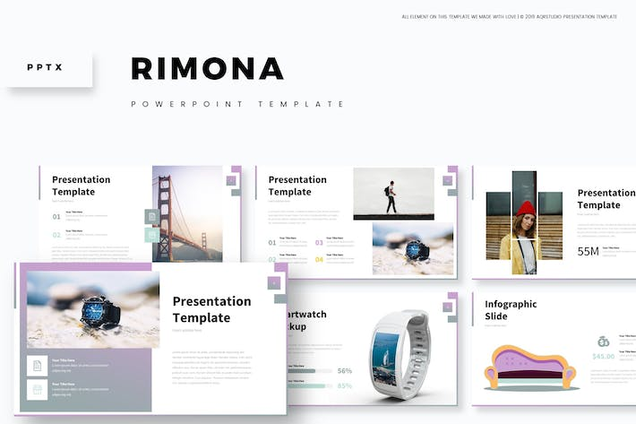 Cover Image For Rimona - Powerpoint Template