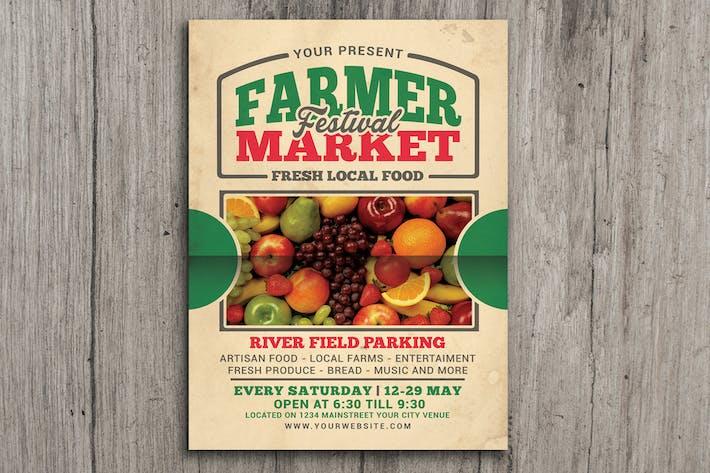 Thumbnail for Farmer Market Event Flyer