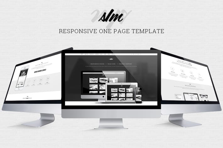 Thumbnail for The SIM - Responsive One Page Template