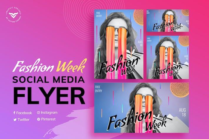 Thumbnail for Fashion Social Media Templates