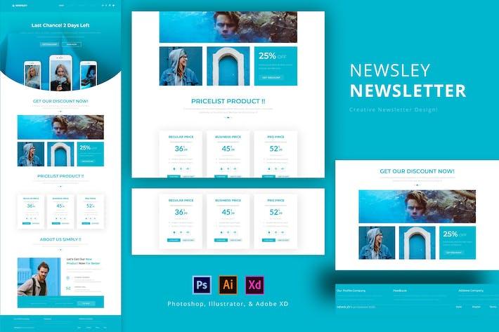 Thumbnail for Newsley Newsletter